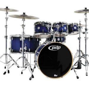 PDP Concept Maple 7pce Drumkit Blue to Black Burst