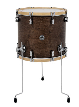 Pdp concept maple classic walnut natural 14x14 floor for 18 inch floor tom for sale