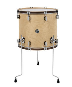 Pdp concept maple classic natural walnut 16 18 floor for 18 inch floor tom for sale